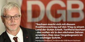 Sachsens DGB-Chef Markus Schlimbach