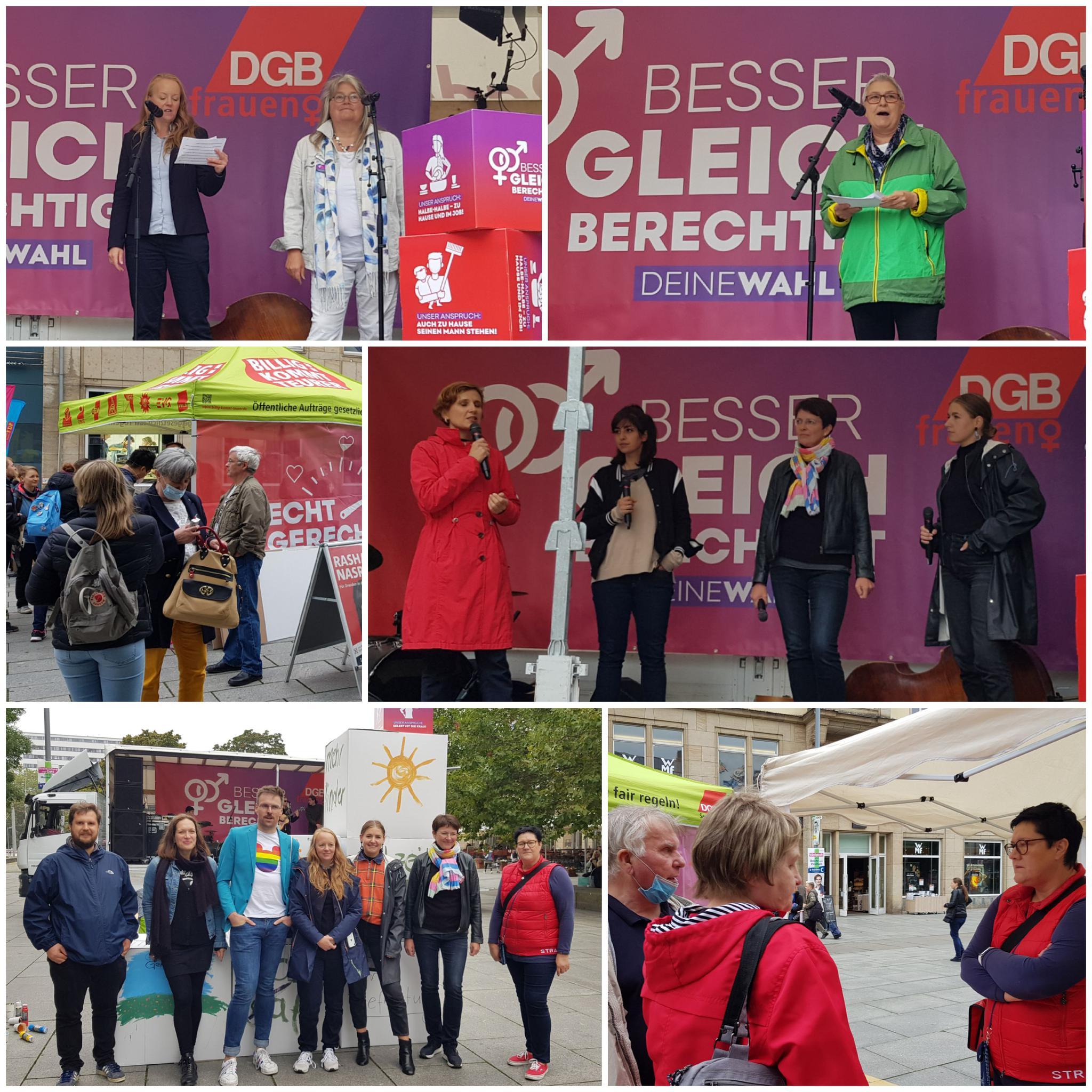 Aktionstag DGB-Frauen