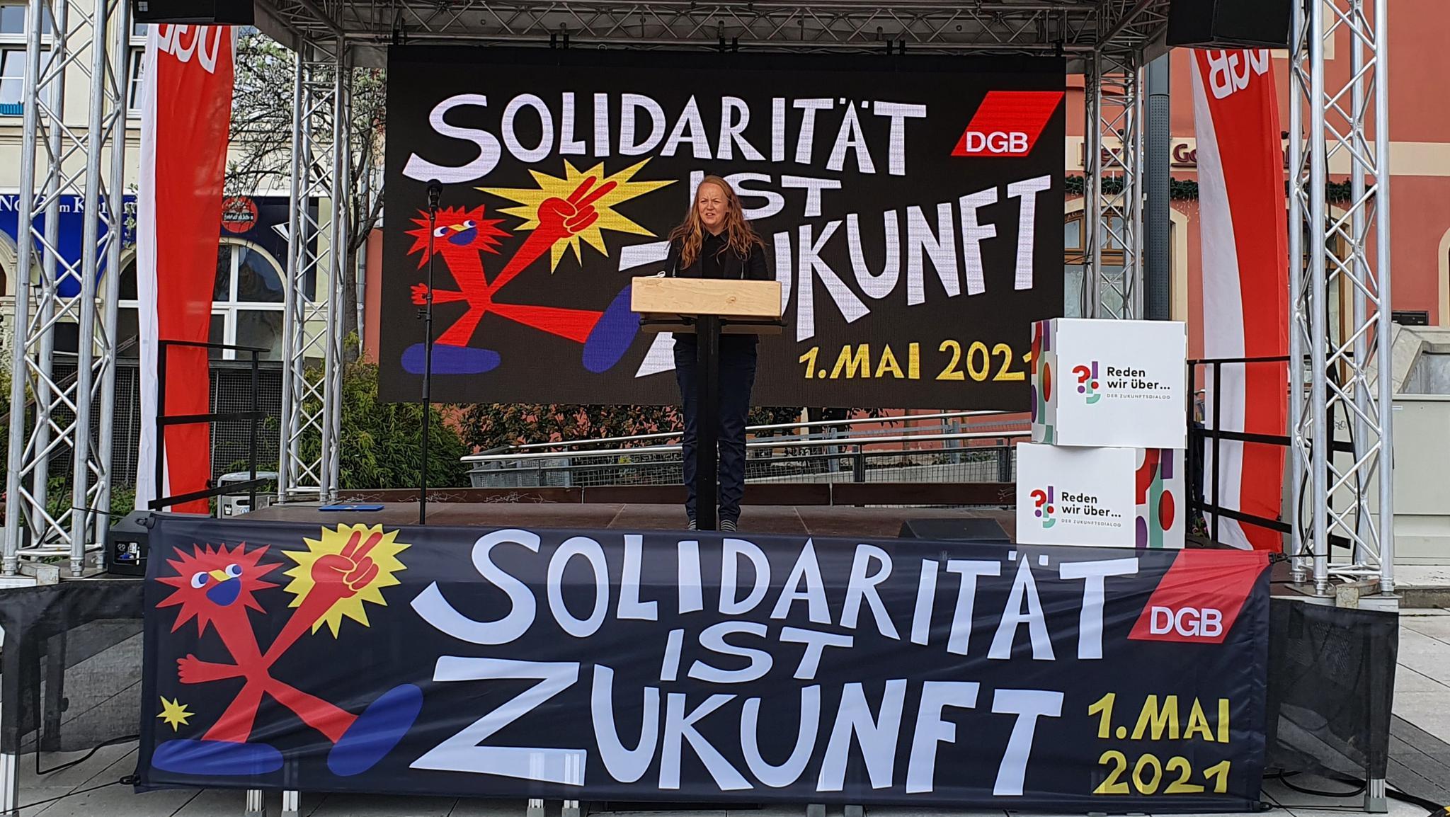 1. Mai in Bautzen