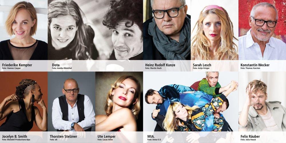 Programm 1. Mai Acts / Bilder von Künstlern zum 1. Mai im Livestream