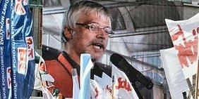 Markus Schlimbach, stellvertretender Vorsitzender des DGB, Bezirk Sachsen