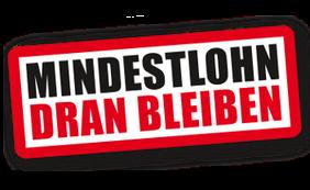 Logo Mindestlohn Dran bleiben