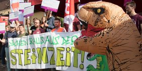 Protestaktion DGB Jugend