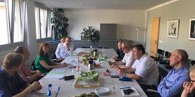 DGB Sachsen und Grüne im Landtag tauschen sich aus