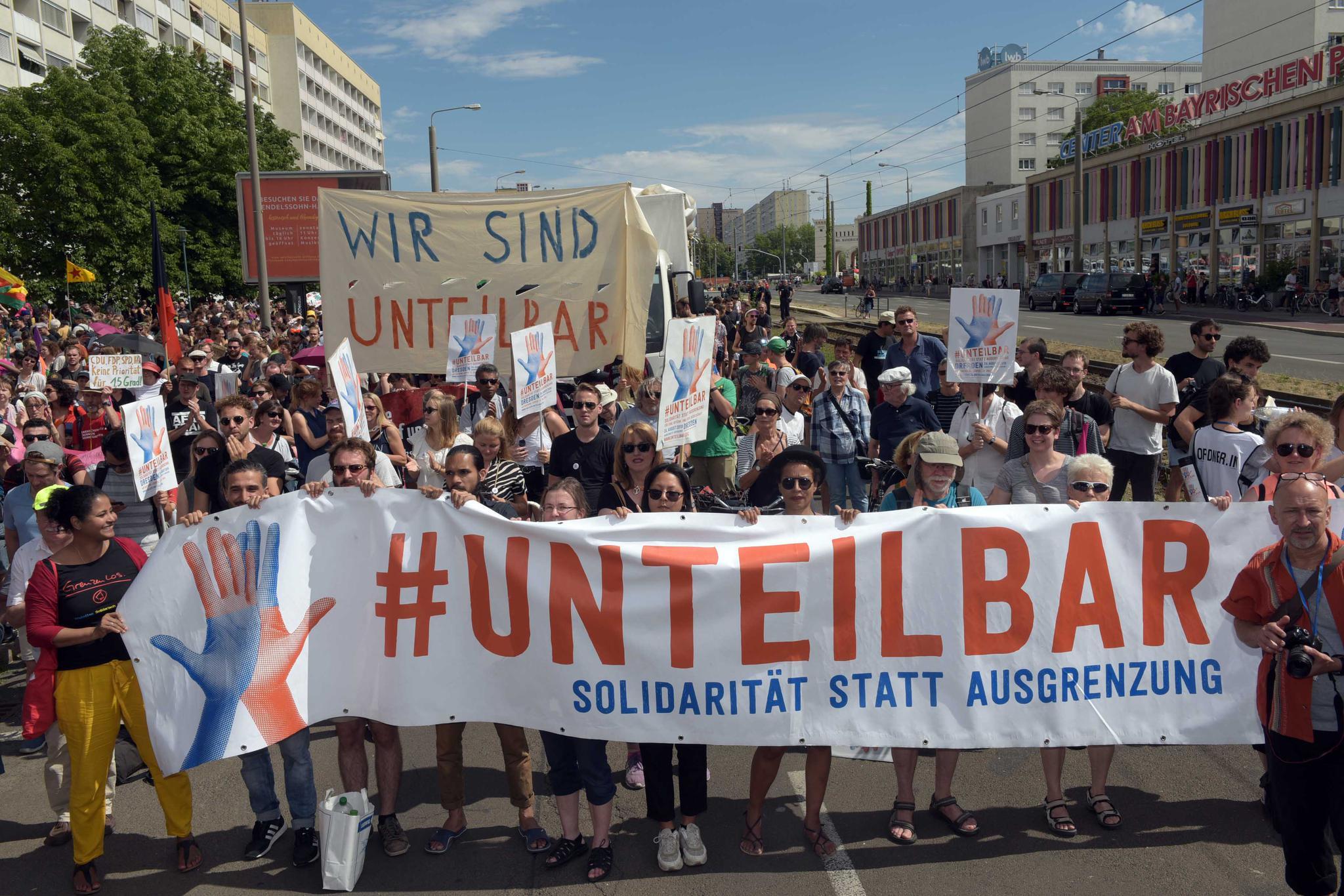 Demo am 6. Juli in Leipzig: Für ein weltoffenes und tolerantes Sachsen