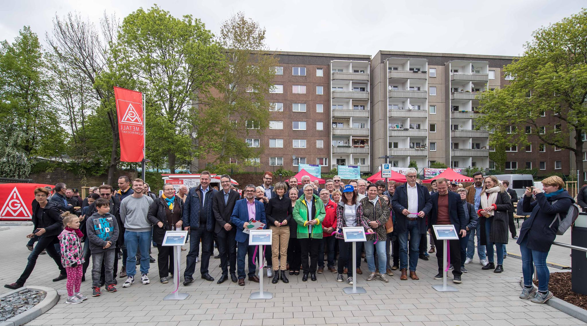 Eröffnung Haus der Gewerkschaften (HdG) Chemnitz
