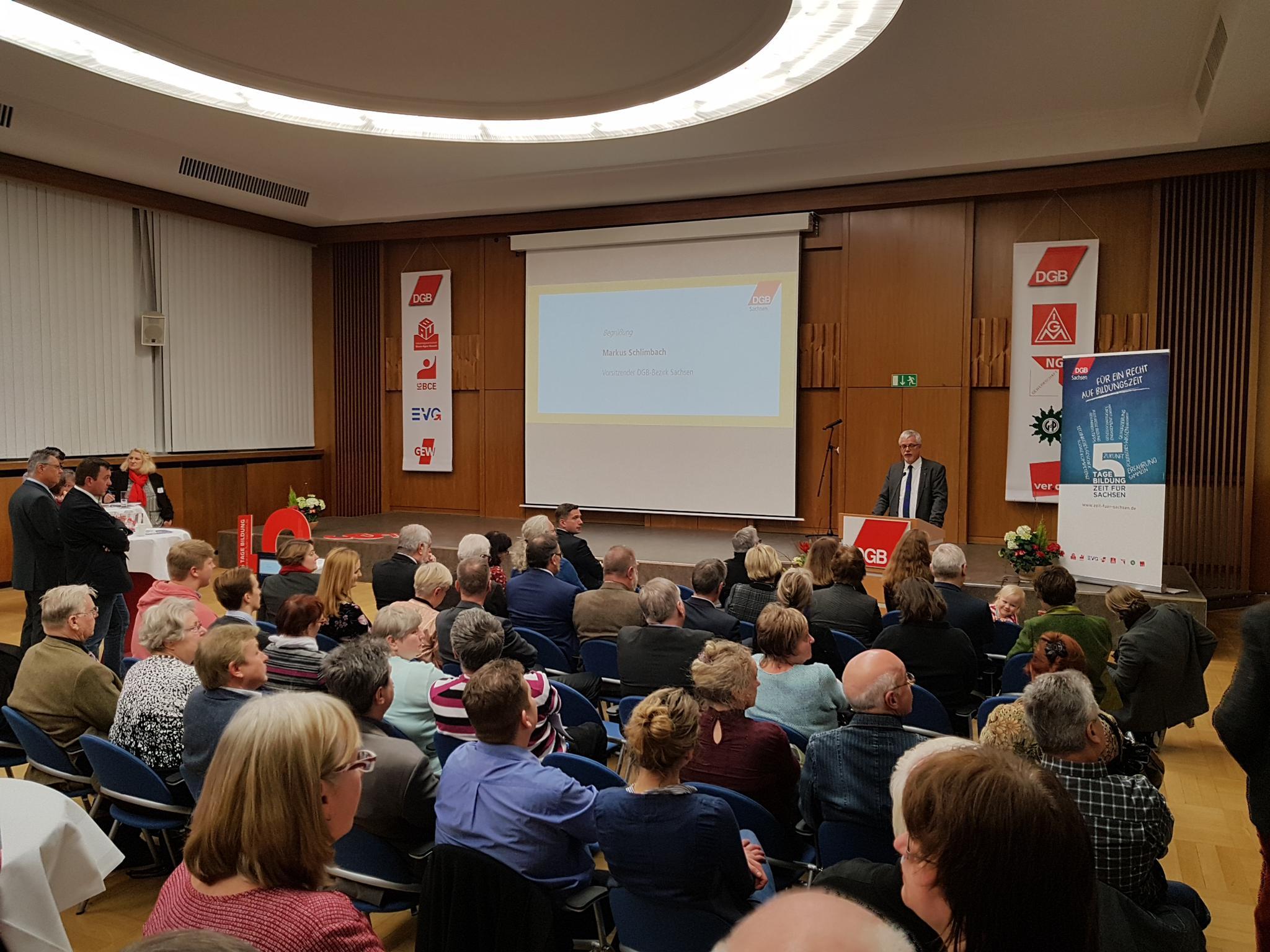 Markus Schlimbach bei seiner Rede