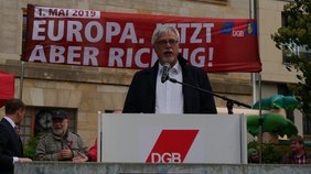 Markus Schlimbach: Europa ist nur stark mit starker sozialer Komponente