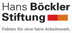 Logo der Hans Böckler Stiftung - Fakten für eine faire Arbeitswelt