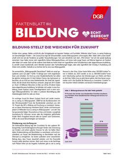 Faktenblatt Bildung