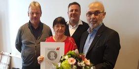 Kollegin der IGBAU erhält Auszeichnung