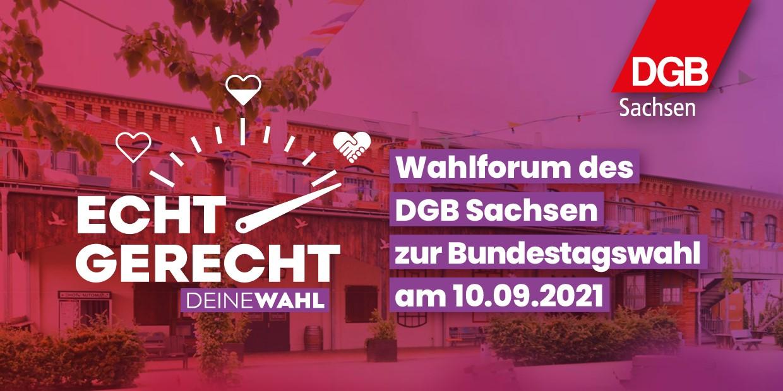 Wahlforum DGB Sachsen