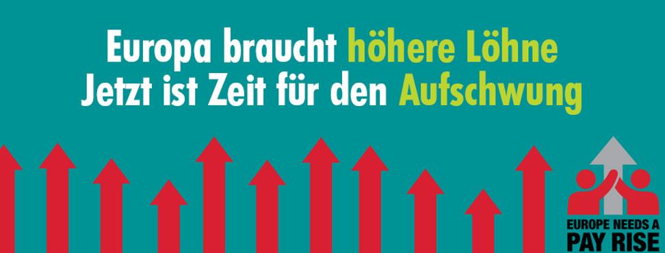 Europa braucht höhere Löhne