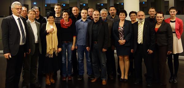 Gewerkschaften aus Deutschland, Polen und Tschechien am 2.12.2013
