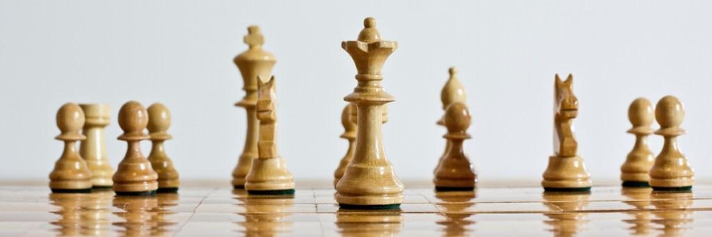 Im Leben wie im Schach: Ob König oder Dame, alle Figuren können nur gemeinsam siegen. Oder verlieren.