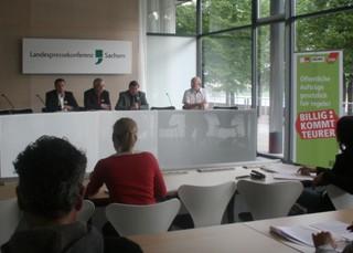 Foto Pressekonferenz