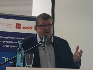 EGB-Generalsekretär Peter Scherrer