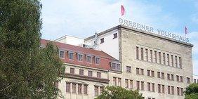 Das Gewerkschaftshaus in Dresden