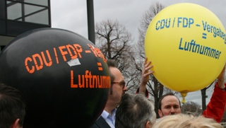 Foto 2 Ballons CDU/FDP