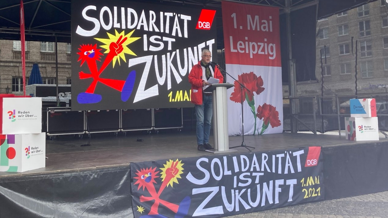 1. Mai in Leipzig