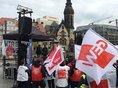 Tausende gingen am 13.4. in Sachsen auf die Straße