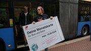 DGB-Jugend wirbt im ÖPNV für Bildungsticket